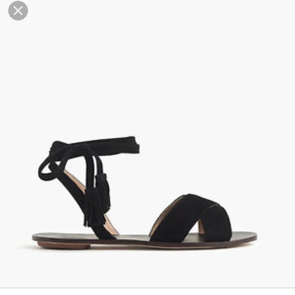 j crew ankle strap sandals